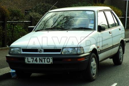 Subaru JUSTY (KAD) 11.1984-10.1995
