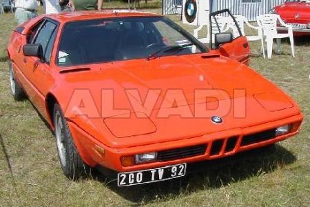 BMW M1 05.1979-05.1983
