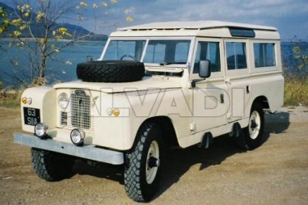 Land Rover 88/109 09.1963-12.1986