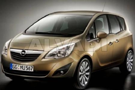 Opel MERIVA 06.2010-...