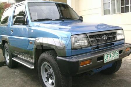 Daihatsu FEROZA (F300) 10.1988-...