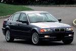 BMW 3 (E46), SDN/ESTATE Rubber Strip, exhaust system