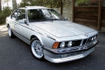 BMW 6 (E24) Zinc spray