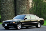 BMW 7 (E38) Gas Spring, boot-/cargo area