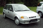 Subaru JUSTY (G3X) 10.2000-09.2003 varuosad
