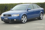 Audi A4 (B6) Anti-corrosion agent for closed profiles