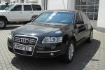 Audi A6 (C6) Number plate light