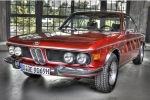 BMW 2000-3.2 COUPE (E9) Wheel chock with holder