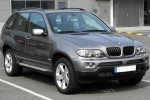 BMW X5 (E53) Number plate base