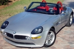 BMW Z8 (Z52) Wheel chock with holder