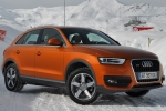 Audi Q3 Ground coat paint
