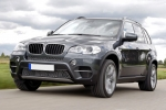 BMW X5 (E70) License plate frame