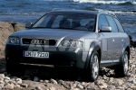 Audi A6 ALLROAD (4BH, C5) Wheel chock with holder
