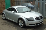 Audi TT (8N) Glass washing