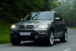 BMW X5 (E70) Number plate support