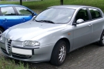 Alfa Romeo 147 (937) Shelves fixing parts