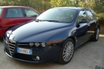 Alfa Romeo 159 (939)SDN,  /SPORTWAGON Number plate light