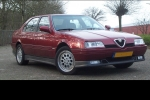 Alfa Romeo 164 (164) Compressed air spray