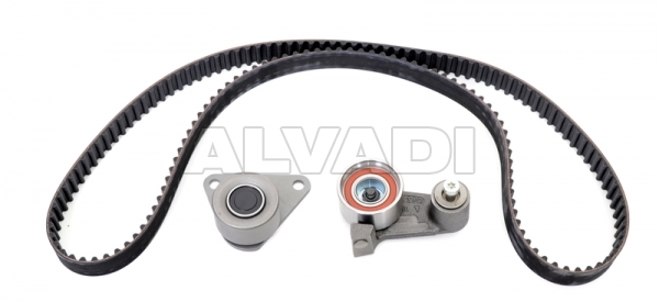 pulley kit with timing belt flennor f904267v for renault