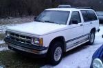 Chevrolet BLAZER Klaasipesuvedelik