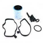 Brændstof-filter; Filter, knasthusudluftning
