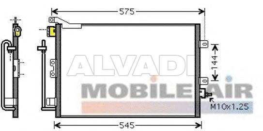 VALEO Air Conditioning Condenser For RENAULT CLIO 818165