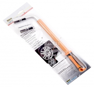 Telescopic wheel wrench