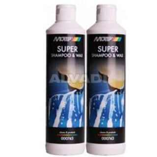 Super Shampoo & Wax 500ml