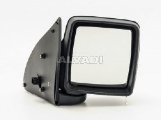 Alkar 6412421 Outside Heated Convex Mirror Glass with Holder